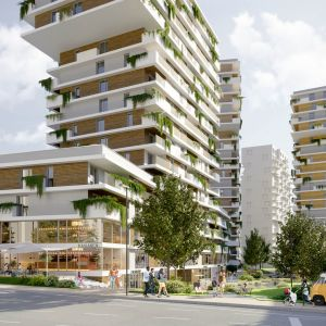 Čerešne Plaza. Zdroj: ITB Development