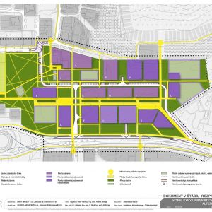 Archikód predstavuje urbanistickú štúdiu zóny Dúbravčice-Stred