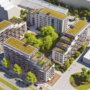 Pôvodná podoba projektu. Zdroj: A.M. Architects