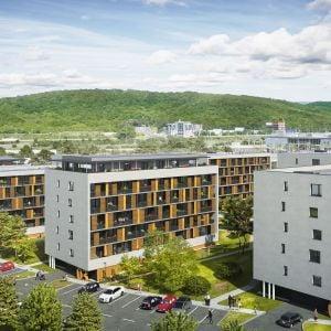 Bory Bývanie, I. etapa. Zdroj: Penta Real Estate