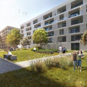Súťažný návrh. Zdroj: Vallo Sadovsky Architects