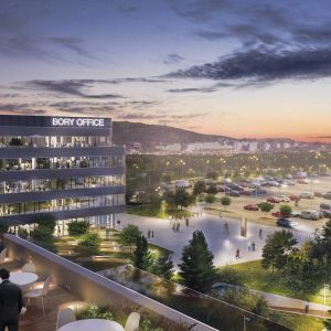 Bory Office Park. Zdroj: Penta Real Estate