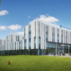 Nemocnica Svet zdravia. Zdroj: Penta Real Estate