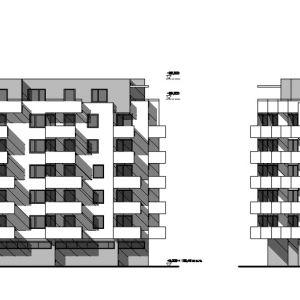 Pohľad - objekty B, C, D: Proxenta / EIA