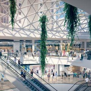 Novinky z Eurovey: Nový Food Hall, mrakodrap sa čoskoro začne zakladať