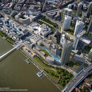 Nové centrum Bratislavy. Zdroj: J&T Real Estate