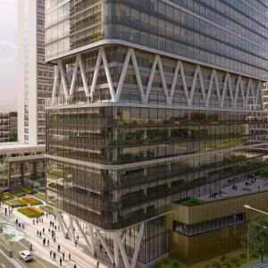 East Tower & Congress. Zdroj: J&T Real Estate