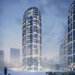 Štvrtá rezidenčná veža. Zdroj: Penta Real Estate