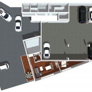 Netradičný pôdorys bytu 1A. Zdroj: Greefin Group