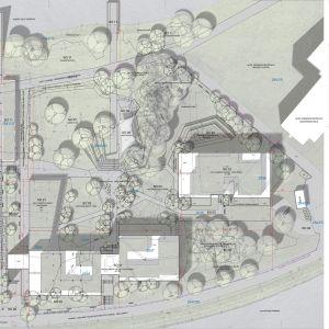 Architektonická situácia. Zdroj: V.D. Lake / EIA
