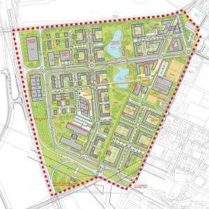 Komplexný urbanistický návrh. Zdroj: JELA