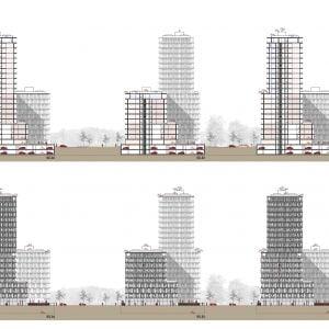 Pohľady. Zdroj: Bevk Perović Arhitekti /EIA