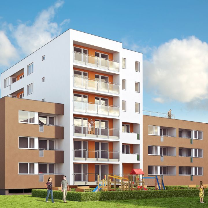 Bytové domy Mierová