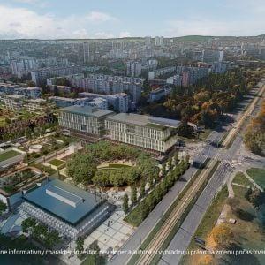 Ruiny Yosaria Plaza zaniknú, Ružinov dostane nové centrum