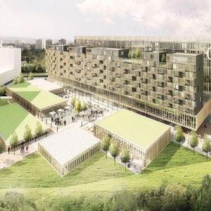Olympia. Víťazný návrh od PMArchitekti. Zdroj: Tatra Residence via Trend Reality