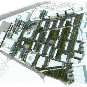 Plánovaný rozvoj územia. Zdroj: GFI
