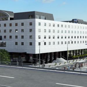 Navrhovaný vzhľad fasády. Zdroj: Sitno Holding