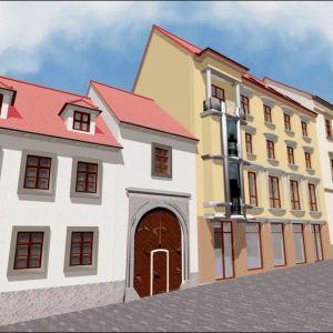 Neaktuálna vízia rekonštrukcie paláca. Zdroj: N-Art