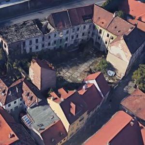 Esterházyho palác dnes. Zdroj: Google Maps