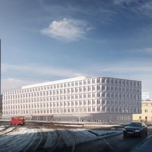Development pod Národnou bankou získava prvé povolenia