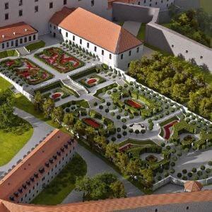 Baroková záhrada. Zdroj: NRSR