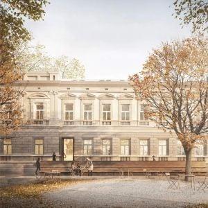 Pohľad od Medenej. Zdroj: Metropolitný inštitút Bratislavy / OPPS Architettura