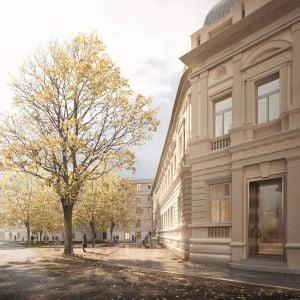 Pohľad od Kúpeľnej. Zdroj: OPPS Architettura / MIB