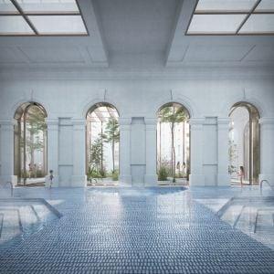 Sedacie bazény. Zdroj: Metropolitný inštitút Bratislavy / OPPS Architettura