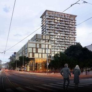 Prvé miesto, administratívna budova: KRR Architekti. Zdroj: Lordship