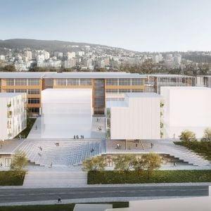 Druhé miesto. Zdroj: Chybik+Kristof Associated Architects
