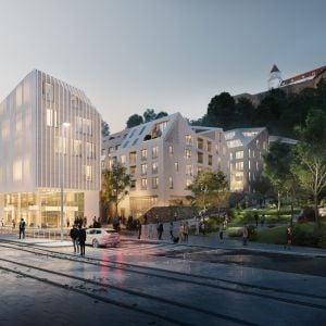 Projekt Vydrica sa odhaľuje, Bratislava opäť získa svoje Podhradie