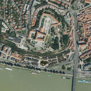 Zákres do leteckej mapy. Zdroj: Compass Architekti