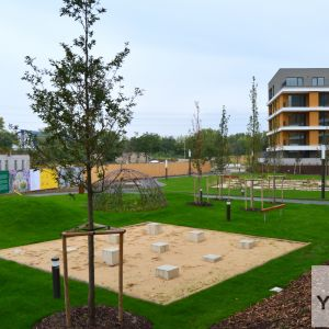 Herné prvky v parku sú najatraktívnejšou časťou projektu