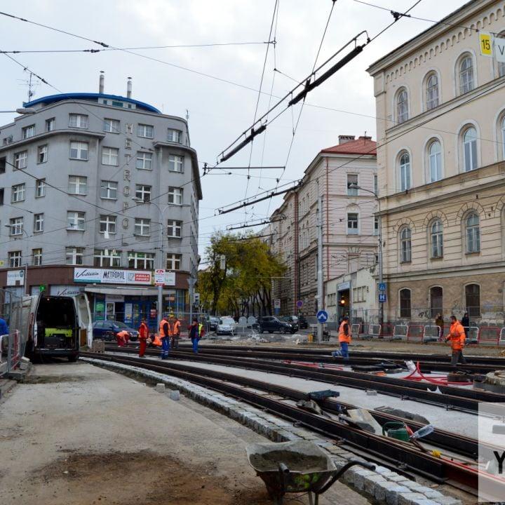Rekonštrukcie električkových tratí