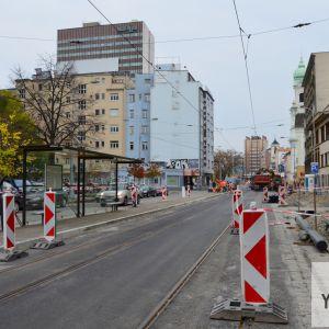 Obnova trate na Špitálskej ulici