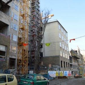 Pohľad na Lomonosovovu ulicu