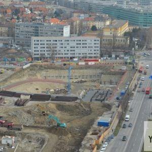 Výstavba Nivy Tower je v najpokročilejšej fáze.