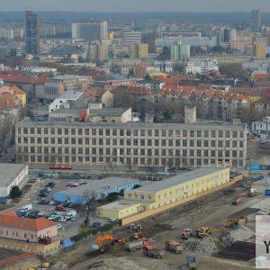 Pradiareň tesne pred rekonštrukciou, po ktorej ju spoločnosť YIT Slovakia premení na kancelársku budovu Pradiareň 1900.