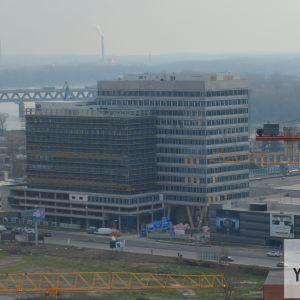Pohľad z Twin City Tower (6.2.2018)