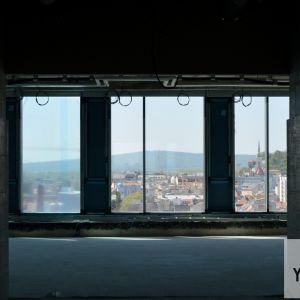 Výhľady smerom na historické centrum mesta s veľmi atraktívne.