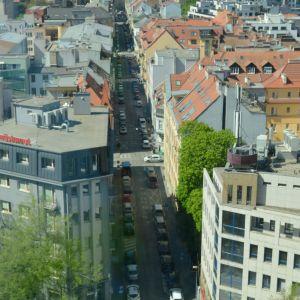 Grösslingova ulica je jednou zo spojníc starého a nového centra mesta