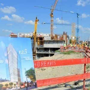 Aktuálne vzniká vstupná lobby budúcej výškovej budovy.