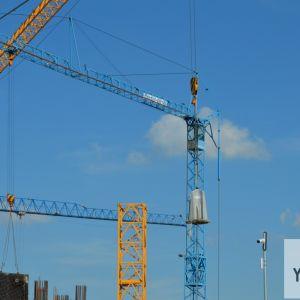 Na stavbe bude v jednom momente až 17 žeriavov.