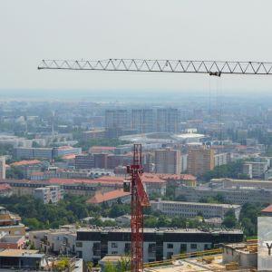 Výhľad na Nové Mesto.