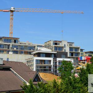 Celkový pohľad z projektu Gansberg.