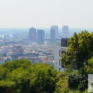 Výhľad na centrum mesta.