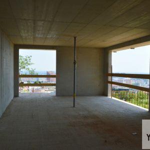 Príklad bytu so zmenenou dispozíciou - zo štvorizbového bytu sa stal dvojizbák.