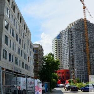 Jarabinky a v susedstve vznikajúci CityPark Ružinov.