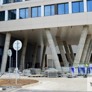 Grandiózny vstup bude najsilnejším architektonickým prvkom projektu