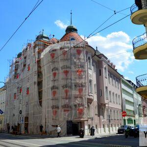 Pokračuje druhá časť rekonštrukcie secesného domu na Štúrovej ulici, ktorý bol postavený v roku 1903.